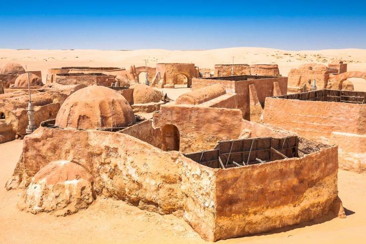 Le désert tunisien à Nefta, site du festival Les Dunes Électroniques © Shutterstock