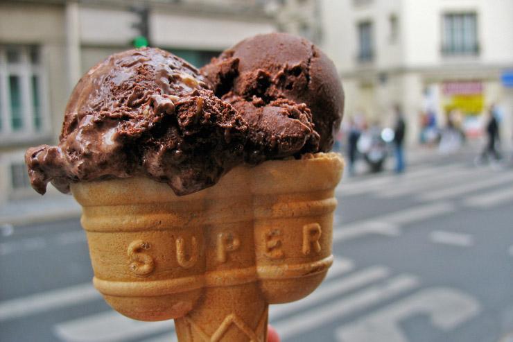 9 spots pour se rafraîchir à Paris - Chez un marchand de glaces