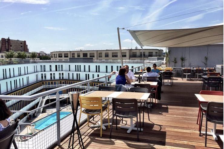 13 rooftops pour flaner cet été - Le Molitor