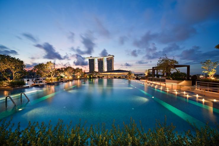 Fullerton Bay Hotel Singapour Yonder