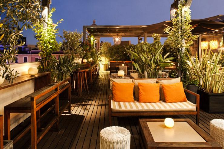 La terraza del pulitzer hotel pulitzer yonder for Hotel design a barcelone