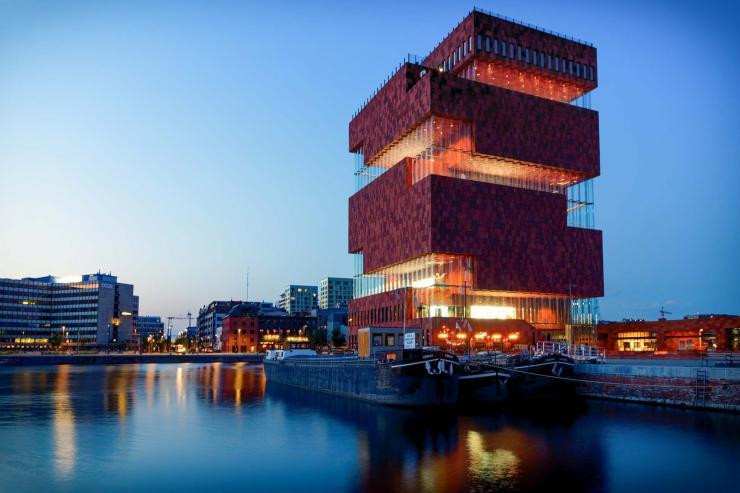 Le port d'Anvers © Fabrice Gueho