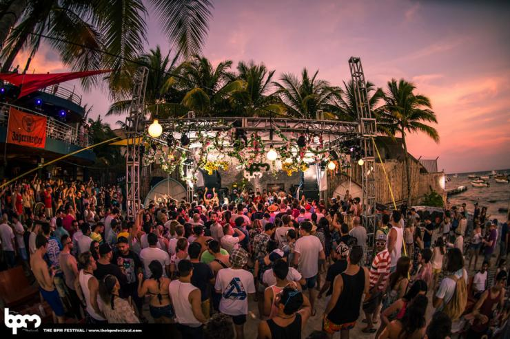 BPM Festival - Playa del Carmen, Mexique