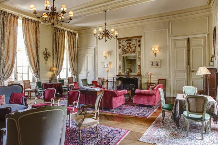 Château D'Étoges (Marne) - Grand Salon