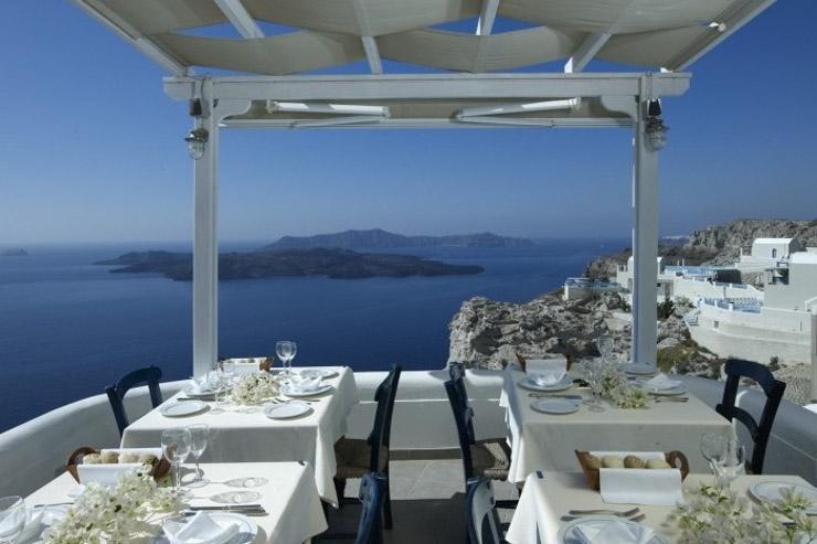 La grecque au caldera santorin cyclades yonder for Meilleur hotel santorin