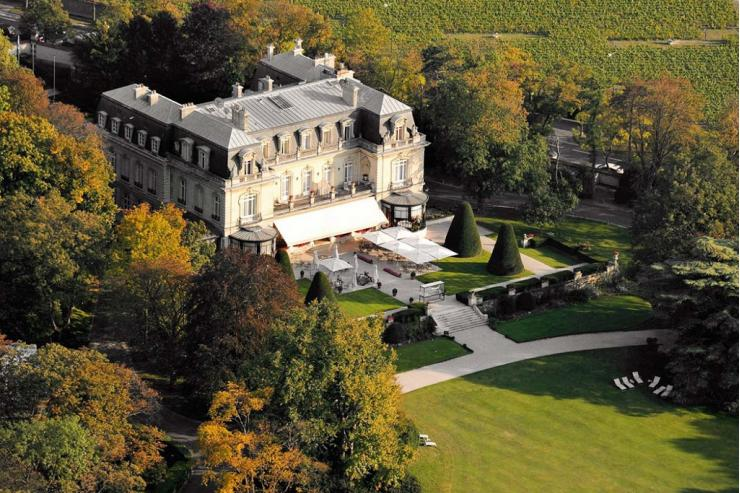 5 raisons de visiter la r gion champagne for Restaurant reims le jardin