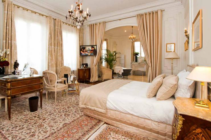 Hôtel Villa Eugène (Épernay, Champagne) - Chambre