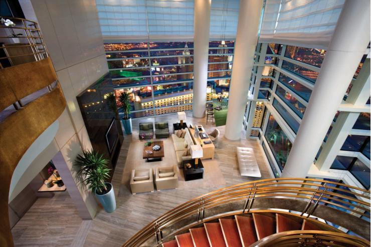 Une des Sky Villas, les suites les plus exclusives de l'hôtel © Aria