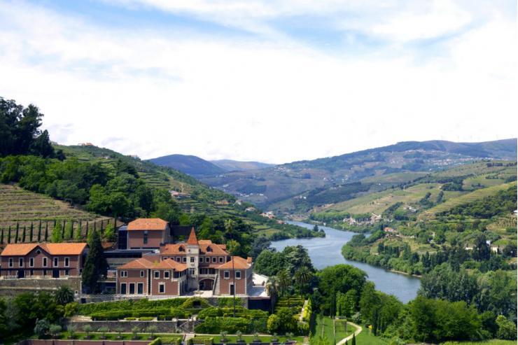 Vue panoramique du Six Senses Douro Valley © Six senses