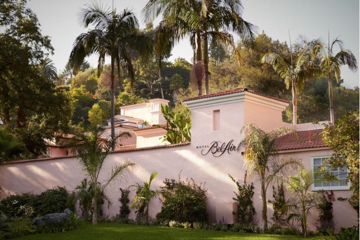 Le légendaire hôtel Bel-Air de Los Angeles © Hotel Bel-Air