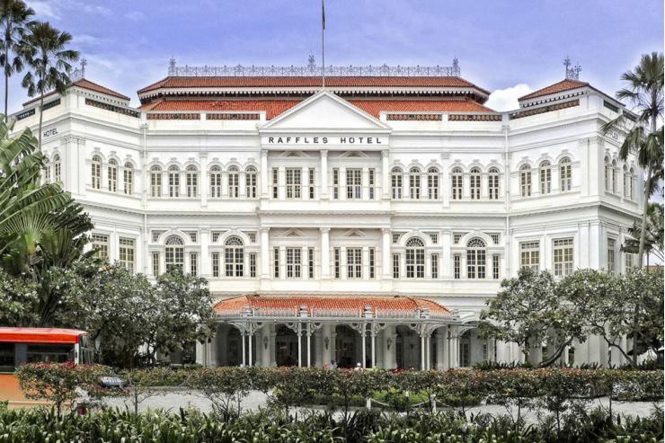 Le Raffles Hotel de Singapour © Raffles