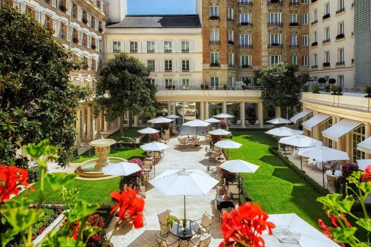Le Bristol (Paris 8ème) - Le Jardin Français