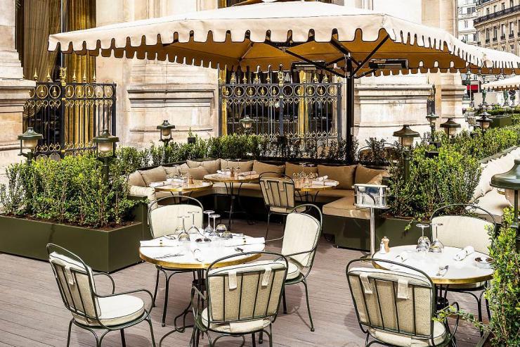 Coco au Palais Garnier : le nouveau jardin de l'Opéra © Romain Ricard