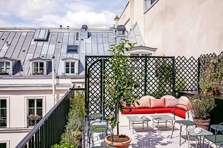 The Shed, le rooftop cool de l'Hôtel des Grands Boulevards