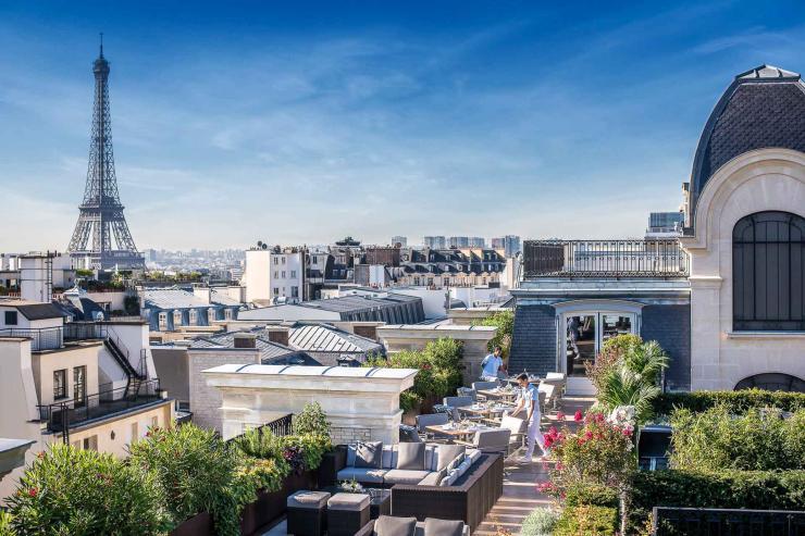 Le Rooftop du Peninsula Paris © DR