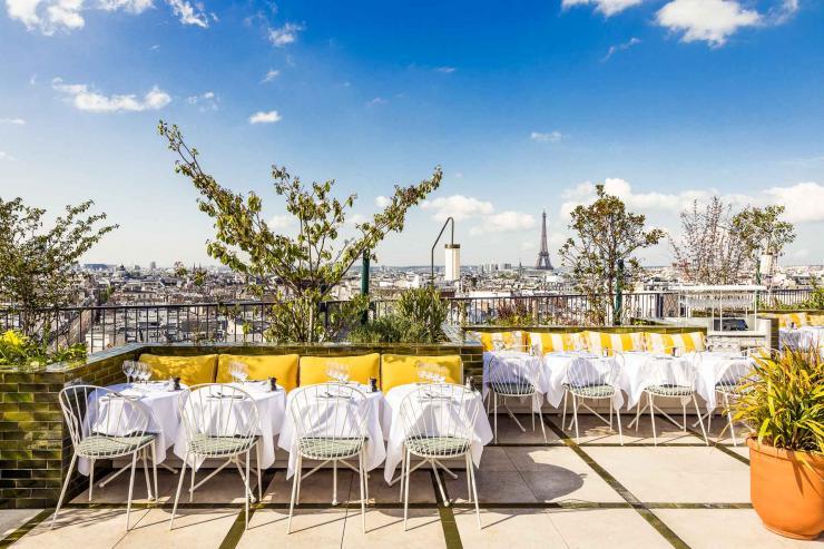 Perruche, le rooftop chic du Printemps Haussmann