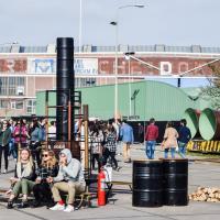 Scène de vie typique pendant le festival © Yonder.fr