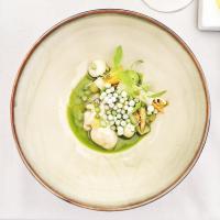 """Huîtres sauvages, salade thaï et """"Chinese Mule"""", la première entrée du menu concocté par Sergio Herman © Yonder.fr"""