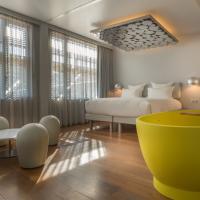La Suite Designer Silver, l'autre suite signature de l'hôtel © OFF Paris Seine