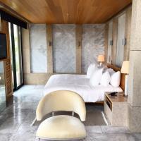 Chambre d'un pavillon © Yonder.fr