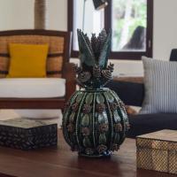 Un soin tout particulier a été porté à la décoration des parties communes de l'hôtel © Yonder.fr