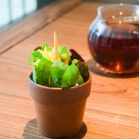 """Flower Pot"" : carotte, quinoa, soja © Yonder.fr"