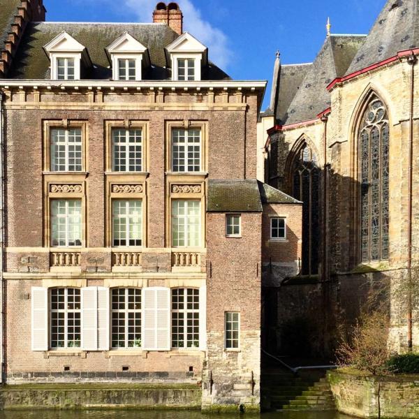 Trésor d'architecture le long de la rivière Lys © Yonder.fr
