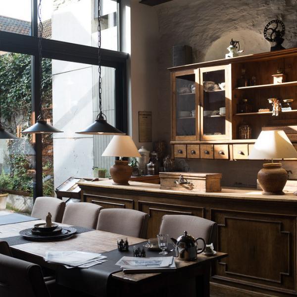 La très belle salle à manger du B&B De Waterzooi © Yonder.fr