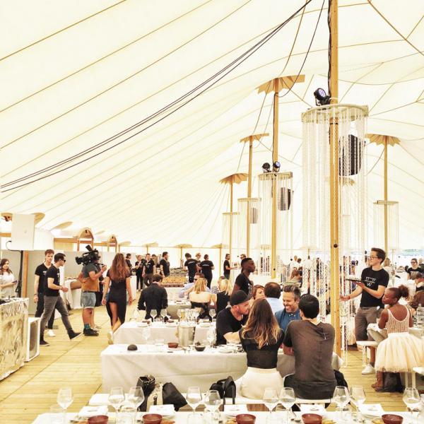 Le pop up restaurant de The Jane a servi samedi et dimanche plus de 450 couverts © Yonder.fr