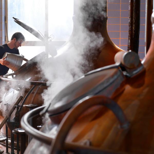 À l'intérieur de la brasserie Het Anker à Malines © www.milo-profil.be