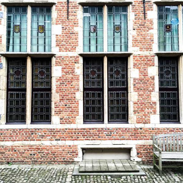 Dans la cour du Musée Plantin-Moretus © Yonder.fr