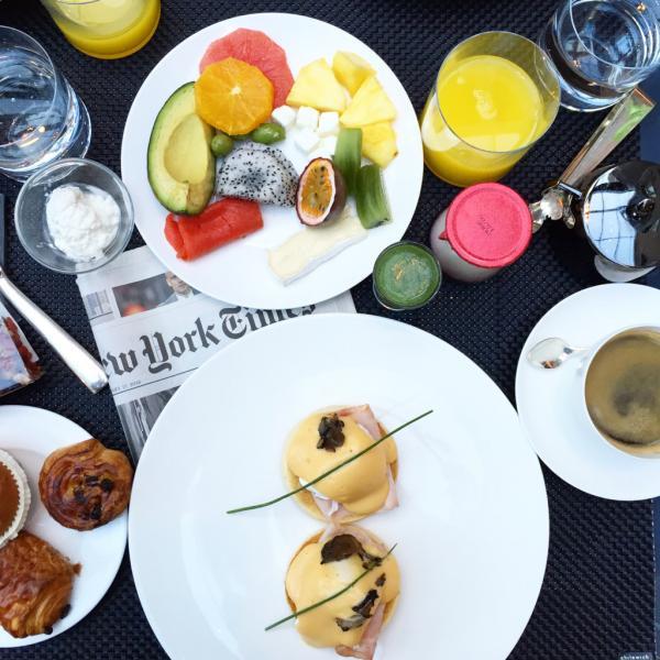 Oeufs Bénédicte au petit-déjeuner @ Yonder.fr