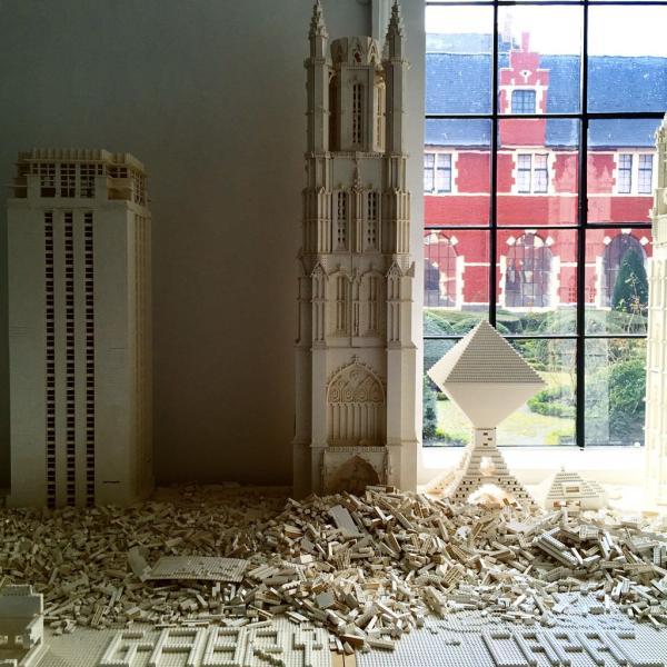 Les monuments de Gand sont reconstitués en LEGO au STAM © Yonder.fr