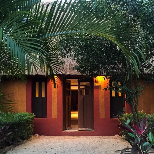 L'une des quatre Mayan Villas de l'Haciendas © Yonder.fr