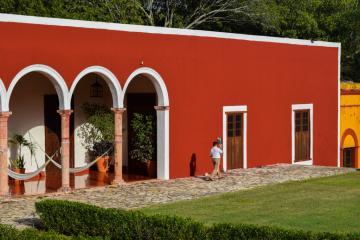 L'hacienda sous le soleil © Yonder.fr