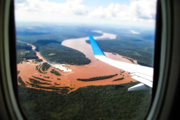 Iguazú vu du ciel. | © Nicolas Tapia