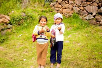Enfant de Pissac, région de Cusco, Pérou © Cédric Aubert