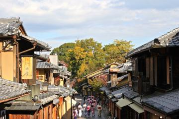 Petites rues dans le quartier de Gion à Kyoto | © Aurélie Morin