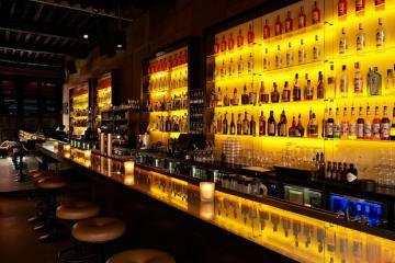 L'Absinth Bar est considéré comme l'un des meilleurs bars à cocktails de la ville © Brasserie Appelmans