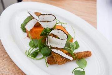 Les légumes du potager sont à l'honneur dans les assiettes de Bas Siegel (De kas) | © Yonder.fr