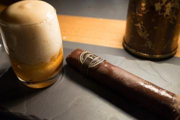 Le cigare « Cuba Libre », excellente surprise de cette soirée.