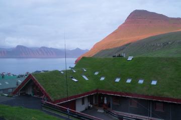 La Gjaargarður Guesthouse de Gjógv.