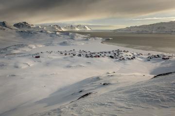 Vue de Kuummiut. © Mads Pihl / Visit Greenland
