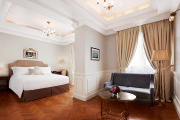 ... et une junior suite chez son voisin le King George. | © Starwood