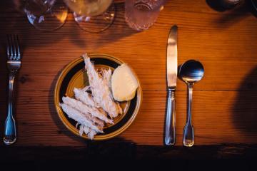 Poisson fermenté chez Ræst.