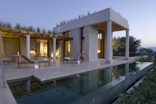 L'un des Pavillons Deluxe avec piscine privative de 12 mètres © Aman