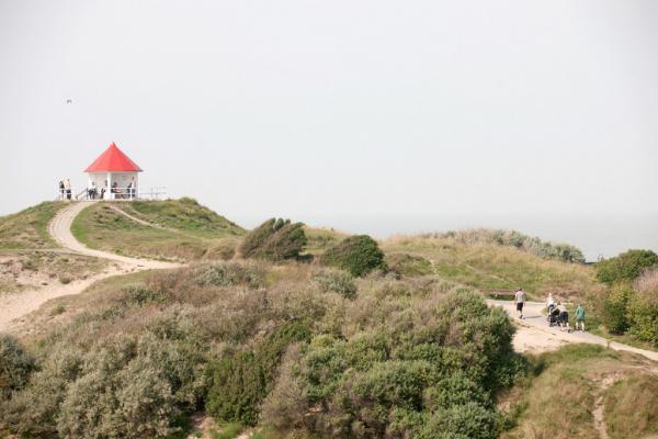 Paysage caractéristique de la Côte à Wenduine, entre Le Coq-sur-Mer et Blankenberge © Toerisme Wenduine