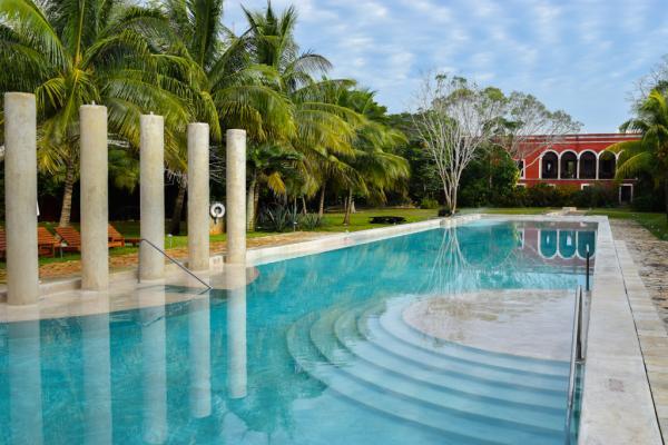 La piscine de l'Hacienda Temozon est particulièrement agréable © Yonder.fr