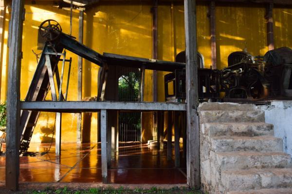 Bien avant d'être un hôtel, l'hacienda fut une usine de sisal prospère © Yonder.fr