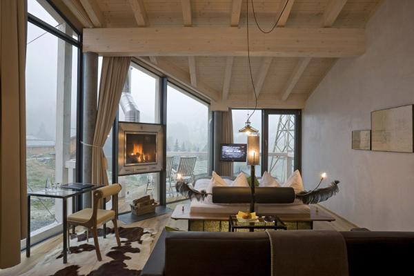 La chambre 140, une Double Room Deluxe. Une synthèse parfaite de l'esprit de l'hôtel. © Matterhorn Focus Hotel
